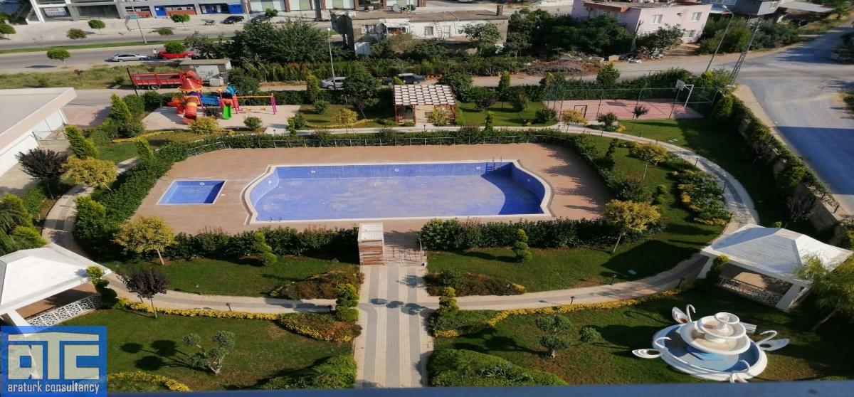 open doors swimming pool