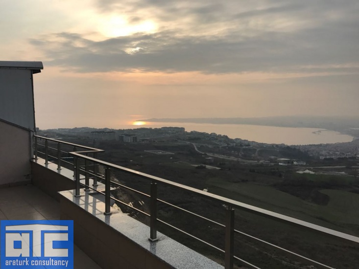Istanbul sea view apartment for sale