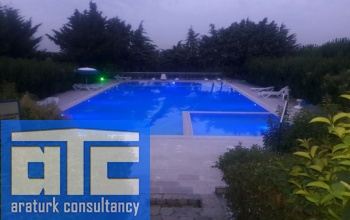 open swimming pool