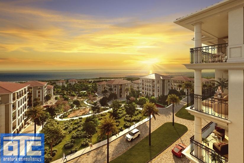 شقة اطلالة على البحر في اسطنبول للبيع