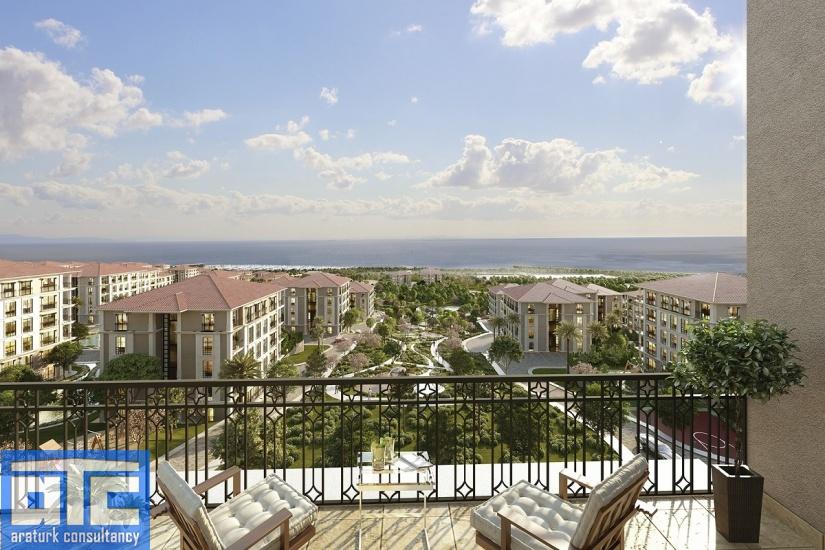 بيت اطلالة على البحر في اسطنبول للبيع