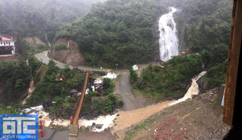 Rize waterfalls